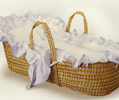 Neutral Moses Baskets