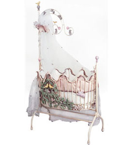 Magic Garden Iron Baby Cradle