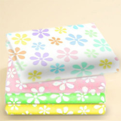 Moses Basket Pastel Floral Cotton Sheet