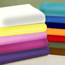 Cotton Percale Porta Crib Sheet