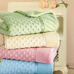 Heavenly Soft Crib/ Toddler Blankets