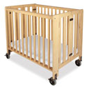 Hideaway Compact Size Folding Crib