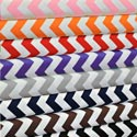 Chevron Portable Crib Sheet