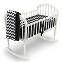 Chevron Cradle Bedding