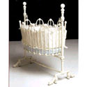 Scalloped Baby Cradle