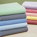 Gingham Portable Crib Sheet