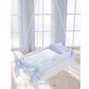 Beauty Bows Hanging Bassinet