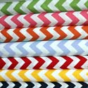 Chevron Zigzag Cotton Cradle Sheet