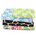 Multi Size Dots and Bubbles Porta Crib Sheet